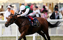 Without Parole ridden by jockey Frankie Dettori wins the St James's Palace Stakes during day one of Royal Ascot at Ascot Racecourse.