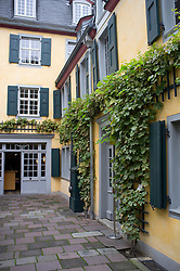 Beethoven Museum in house where composer was born in Bonn Germany