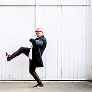 Lars Hjortshøj, standupkomiker, skuespiller og tv- og radiovært, er aktuel med nyt one man show- Plan B.