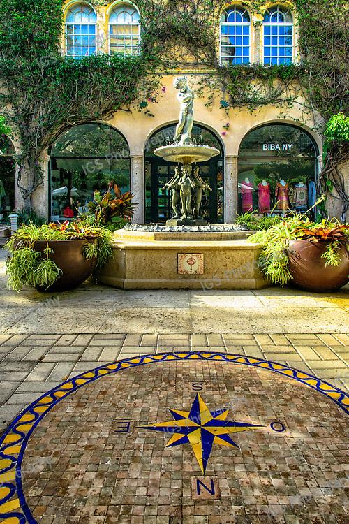 Courtyard on Worth Avenue,Palm Beach