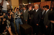 Moscow, Russia, 12/06/1991..Boris Yeltsin voting in the first Russian Federation Presidential elections, which he won.