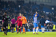 Brighton and Hove Albion (17) Glenn Murray after the The FA Cup 3rd round match between Brighton and Hove Albion and Crystal Palace at the American Express Community Stadium, Brighton and Hove, England on 8 January 2018. Photo by Sebastian Frej.