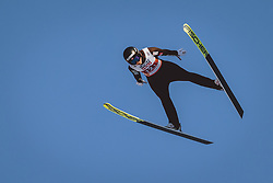 28.02.2021, Oberstdorf, GER, FIS Weltmeisterschaften Ski Nordisch, Oberstdorf 2021, Mixed Teambewerb, Skisprung HS106, im Bild Silje Opseth (NOR) // Silje Opseth of Norway during the ski jumping HS106 mixed team competition of FIS Nordic Ski World Championships 2021 in Oberstdorf, Germany on 2021/02/28. EXPA Pictures © 2021, PhotoCredit: EXPA/ JFK