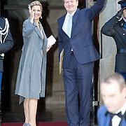 NLD/Amsterdam/20151125 - Koning Willem Alexander reikt Erasmusprijs 2015 uit, Koningin Maxima en Koning Willem-Alexander