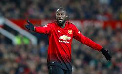 Manchester United's Romelu Lukaku