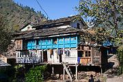 Vashisht village in Kullu valley, Himachal Pradesh, India