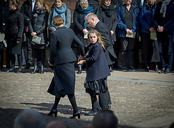 The Family Holch Povlsen had the funeral today of their three children Alma, Agnes and Alfred at Aarhus Cathedral. ***SPECIAL INSTRUCTIONS*** Please pixelate children's faces before publication.***. 04 May 2019 Pictured: Anders Holch Povlsen, Anne Holch Povlsen and Astrid Holch Povlsen. Photo credit: Martin Hoien/Aller/MEGA TheMegaAgency.com +1 888 505 6342