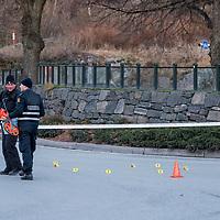 Kristiansand  20161127.<br /> En mann er død etter en skyting med politiet i Kristiansand natt til søndag.<br /> Foto: Tor Erik Schrøder / NTB scanpix