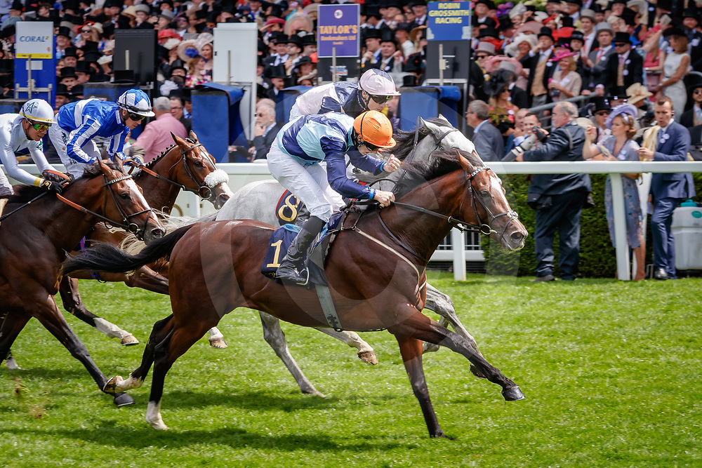 Accidental Agent (Charles Bishop) wins Queen Anne Stakes Gr.1 in Ascot, 19/06/2018, photo: Zuzanna Lupa