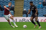 Barnsley defender Dimitri Cavare  (12)  during the The FA Cup 3rd round match between Burnley and Barnsley at Turf Moor, Burnley, England on 5 January 2019.