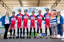 BORSO Andrea(ITA) of Adria Mobil, PER Gorazd (SLO) of Adria Mobil, KATRAŠNIK Gašper (SLO)of Adria Mobil, GROŠELJ Žiga (SLO) of  Adria  Mobil, GOLČER Jure (SLO) of Adria Mobil and ROGINA  Radoslav (CRO) of Adria Mobil during the UCI Class 1.2 professional race 4th Grand Prix Izola, on February 26, 2017 in Izola / Isola, Slovenia. Photo by Vid Ponikvar / Sportida
