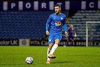Jamie Stott. Stockport County FC 2-0 Wrexham FC. Vanarama National League. 28.12.20