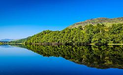 Reflections in Loch Lubhair in the Trossachs, Scotland<br /> <br /> (c) Andrew Wilson   Edinburgh Elite media