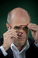 Acclaimed Irish writer Colm Toibin, pictured at the Edinburgh International Book Festival where he talked about his most recent work. The three-week event is the world's biggest literary festival and is held during the annual Edinburgh Festival. The 2011 event featured talks and presentations by more than 500 authors from around the world..