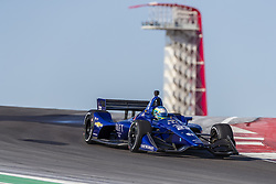 February 12, 2019 - Austin, Texas, U.S. - RC ENERSON (23) of the United States goes through the turns during practice for the IndyCar Spring Test at Circuit Of The Americas in Austin, Texas. (Credit Image: © Walter G Arce Sr Asp Inc/ASP)