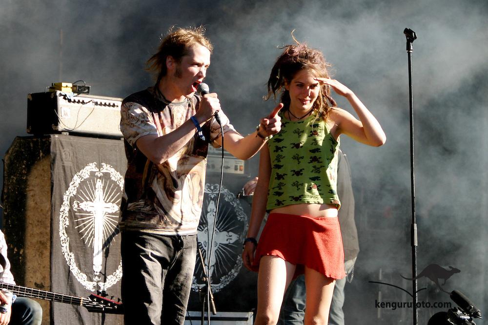 Cumshots during the Quartfestival in Kristiansand July 6 2004 at Bendiksbukta.