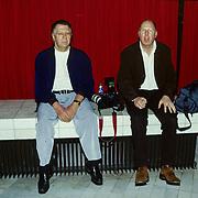 NLD/Bussum/19890117 - Joop van Tellingen en Frans van Zijst