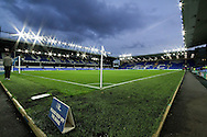 a General view inside the Goodison Park stadium before the match. Premier league match, Everton v Crystal Palace at Goodison Park in Liverpool, Merseyside on Friday 30th September 2016.<br /> pic by Chris Stading, Andrew Orchard sports photography.