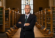 Stephen P. Garvey '87 is a Professor of Law at the Cornell Law, pictured February 28, 2018 at Cornell University in Ithaca, N.Y.<br /> Mark DiOrio / Colgate University