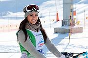 Alina Buchschacher, Teilnehmerin beim Renzo's Schneeplausch vom 23. Januar 2016 in Vella, Gemeinde Lumnezia.