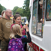 At the end of the day ice cream was in great demand. Thousands turned out for a march of solidarity against fracking in Balcombe. The village Balcombe in Sussex is the  centre of fracking by the company Cuadrilla. The march saw anti-fracking movements from the Lancashire and the North, Wales and other communities around the UK under threat of gas and oil exploration by fracking.