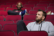 HOUSTON, TX - OCTOBER 2:  Ryan Bader waits backstage before the UFC 192 weigh-in at the Toyota Center on October 2, 2015 in Houston, Texas. (Photo by Cooper Neill/Zuffa LLC/Zuffa LLC via Getty Images) *** Local Caption *** Ryan Bader