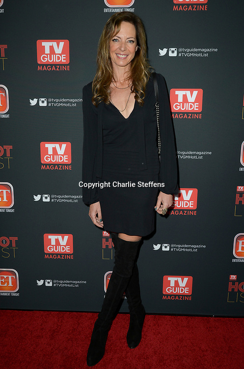 Allison Janney<br /> The TV Guide Magazine Annual Hot List Party<br /> November 4, 2013