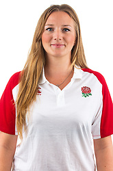 Emily Ross of England Rugby 7s - Mandatory by-line: Robbie Stephenson/JMP - 17/09/2019 - RUGBY - The Lansbury - London, England - England Rugby 7s Headshots