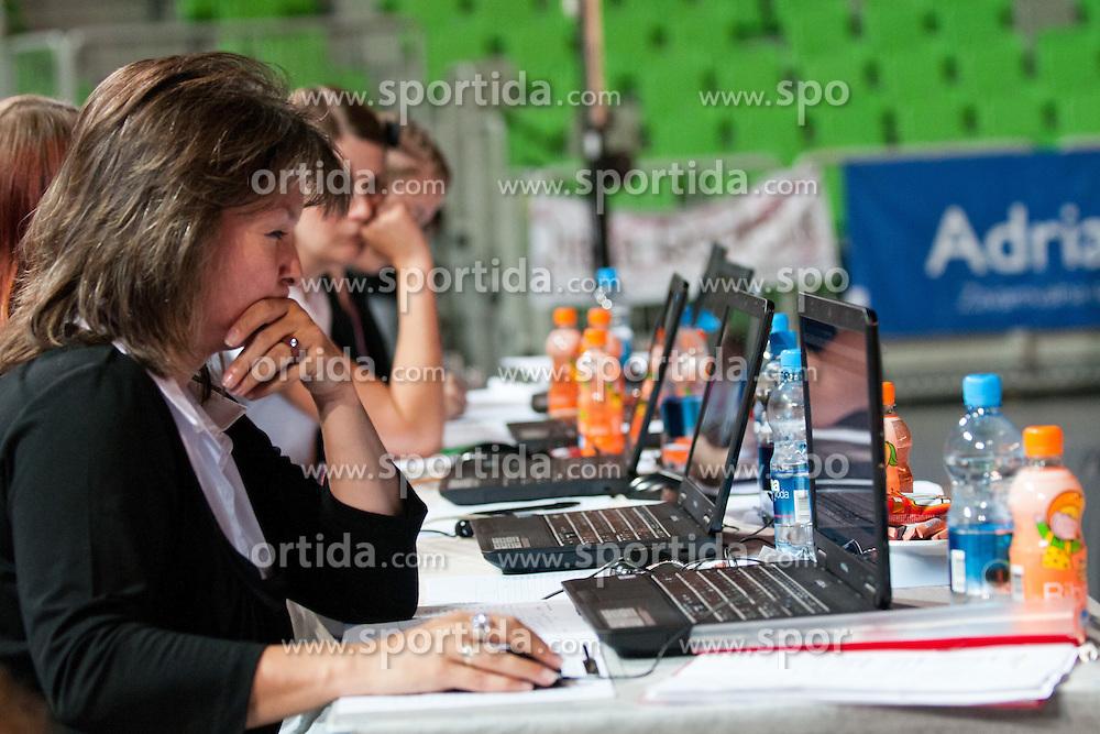 Judges at European Cheerleading Championship 2011, on July 2, 2011, in SRC Stozice, Ljubljana, Slovenia (Photo by Matic Klansek Velej / Sportida)