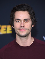 December 9, 2018 - Hollywood, California, U.S. - Dylan O'Brien arrives for the premiere of the film 'Bumblebee' at the Chinese theater. (Credit Image: © Lisa O'Connor/ZUMA Wire)