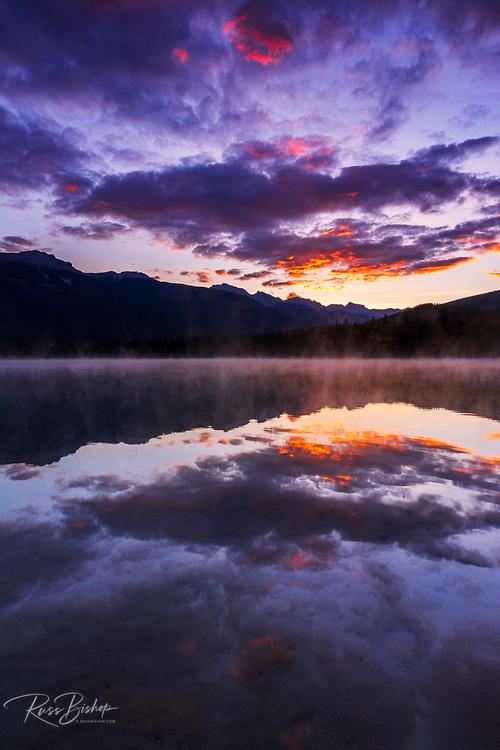 Sunrise at Edith Lake, Jasper National Park, Alberta Canada