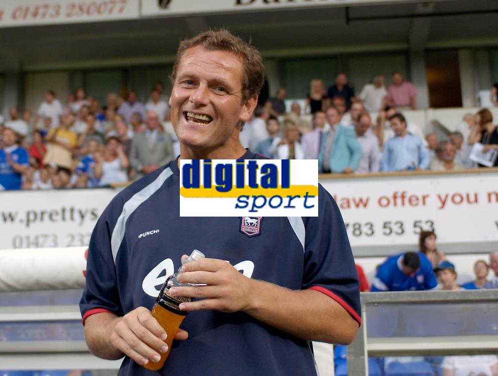 Photo: Daniel Hambury.<br />Ipswich Town v Lazio. Pre Season Friendly. 28/07/2006.<br />Ipswich's new manager Jim Magilton.