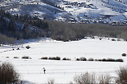 SHOT 3/2/17 3:57:46 PM - Park City, Utah lies east of Salt Lake City in the western state of Utah. Framed by the craggy Wasatch Range, it's bordered by the Deer Valley Resort and the huge Park City Mountain Resort, both known for their ski slopes. Utah Olympic Park, to the north, hosted the 2002 Winter Olympics and is now predominantly a training facility. In town, Main Street is lined with buildings built primarily during a 19th-century silver mining boom that have become numerous restaurants, bars and shops. (Photo by Marc Piscotty / © 2017)