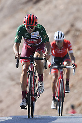 February 17, 2018 - Muscat, Oman - HAAS Nathan  (AUS)  of Team Katusha Alpecin during stage 5 of the 9th edition of the 2018 Tour of Oman cycling race, a stage of 152 kms between Sama'il and Jabal Al Akhdhar (Green Mountain) on February 17, 2018 in Muscat, Sultanate Of Oman, 17/02/2018 (Credit Image: © Panoramic via ZUMA Press)