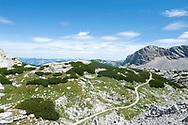 Hiking trail to Simonyhütte, Dachstein, Salzkammergut, Austria © Rudolf Abraham