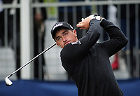 Golf - 2018 Sky Sports British Masters - Sunday, Fourth Round<br /> <br /> Paul Dunne of Ireland, at Walton Heath Golf Club.<br /> <br /> COLORSPORT/ANDREW COWIE
