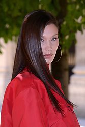 Bella Hadid attending the Louis Vuitton Menswear Spring Summer 2019 show as part of Paris Fashion Week in Paris, France on June 21, 2018. Photo by Aurore Marechal/ABACAPRESS.COM