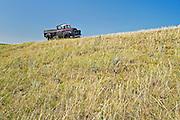 old abandned truch on old farmstead <br /> near Big Beaver<br /> Saskatchewan<br /> Canada