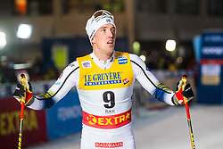 November 24, 2018 - Ruka, FINLAND - 181124 Calle Halfvarsson of Sweden after competing in a men's sprint classic technique semi final during the FIS Cross-Country World Cup premiere on November 24, 2018 in Ruka  (Credit Image: © Carl Sandin/Bildbyran via ZUMA Press)