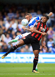 29 July 2017 -  Pre-Season Friendly - QPR v Bournemouth - Jordon Ibe of Bournemouth  in action with Joel Lynch of Queens Park Rangers - Photo: Marc Atkins / Offside.