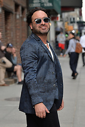 May 16, 2019 - New York, NY, USA - May 16, 2019 New York City..Johnny Galecki arriving to tape an appearance on 'The Late Show with Stephen Colbert' on May 16, 2019 in New York City. (Credit Image: © Kristin Callahan/Ace Pictures via ZUMA Press)