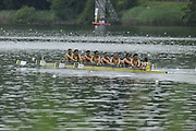 Lucerne, Switzerland.  AUS M8+, moves away from the start t . 13:49:59   Friday  09/07/2010.  [Mandatory Credit Peter Spurrier/ Intersport Images]