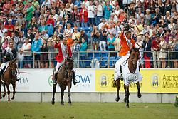 iDubbeldam Jeroen, (NED), SFN Zenith NOP, Wathelet Gregory, (BEL), Conrad De Hus<br /> Individual Final Competition round 2<br /> FEI European Championships - Aachen 2015<br /> © Hippo Foto - Dirk Caremans<br /> 23/08/15