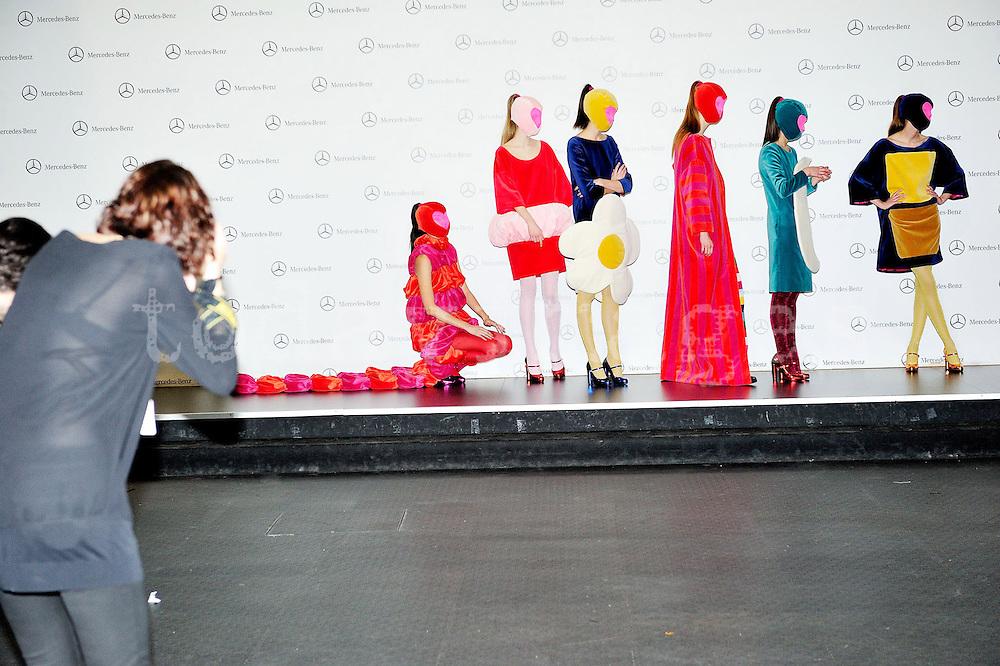 ¡gatha Ruiz de la Prada at Mercedes-Benz Fashion Week Madrid 2013