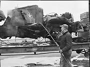 "9904-B06A. ""M. S. Idaho. Scrap cargo. Terminal #1. February 10, 1951"" (no story in newspaper)"