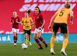 OSLO, NORWAY - Tuesday, September 22, 2020: Norway's Ingrid Syrstad Engen during the UEFA Women's Euro 2022 England Qualifying Round Group C match between Norway Women and Wales Women at the Ullevaal Stadion. Norway won 1-0. (Pic by Vegard Wivestad Grøtt/Propaganda)