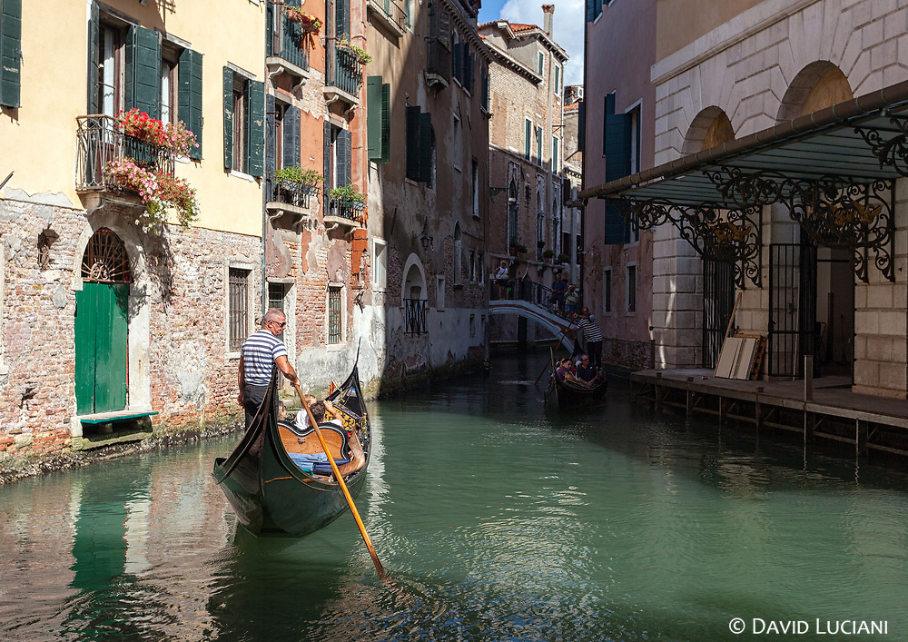 In ancient times Venice was an unhabited marshy lagoon including small islands with unsolid foundations. The people who settled down in Venice in the 5th century, used stacks which were driven into the ground. The first wooden buildings were constructed on these stacks.
