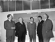 Mr William Norton (2nd from left), Minister for Industry and Commerce at Irish Ropes Ltd.<br />
