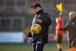 Raith Rovers manager John McGlynn. Forfar Athletic 3 v 2 Raith Rovers, Scottish Football League Division One played 27/10/2018 at Forfar Athletic's home ground, Station Park, Forfar.
