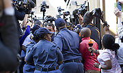 Day of Verdict In The Trial Of Oscar Pistorius<br /> <br /> Oscar Pistorius arrive in North Gauteng High Court on September 11, 2014 in Pretoria, South Africa. <br /> <br /> Judge Thokozile Masipa will deliver judgment on Oscar Pistorius for the murder of his girlfriend, model Reeva Steenkamp <br /> ©Exclusivepix
